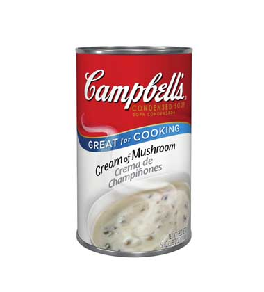 Campbells cream of mushroom soup and italian beef recipe