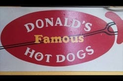 Donald's Famous HotDogs